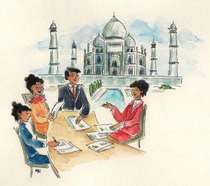 Verkaufstrainings in Indien mit KeSch Training International